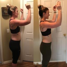 Kim after only 8 weeks